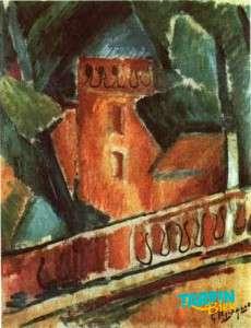 Terrasse à l'Estaque - Georges Braque - 1908