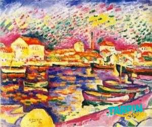 Le Port de L'estaque, Georges Braque (1906)