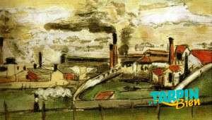 Usines à l'Estaque - Paul Cézanne - 1865