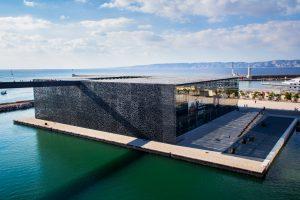 Le MuCEM (musée des Civilisations de l'Europe et de la Méditerranée)