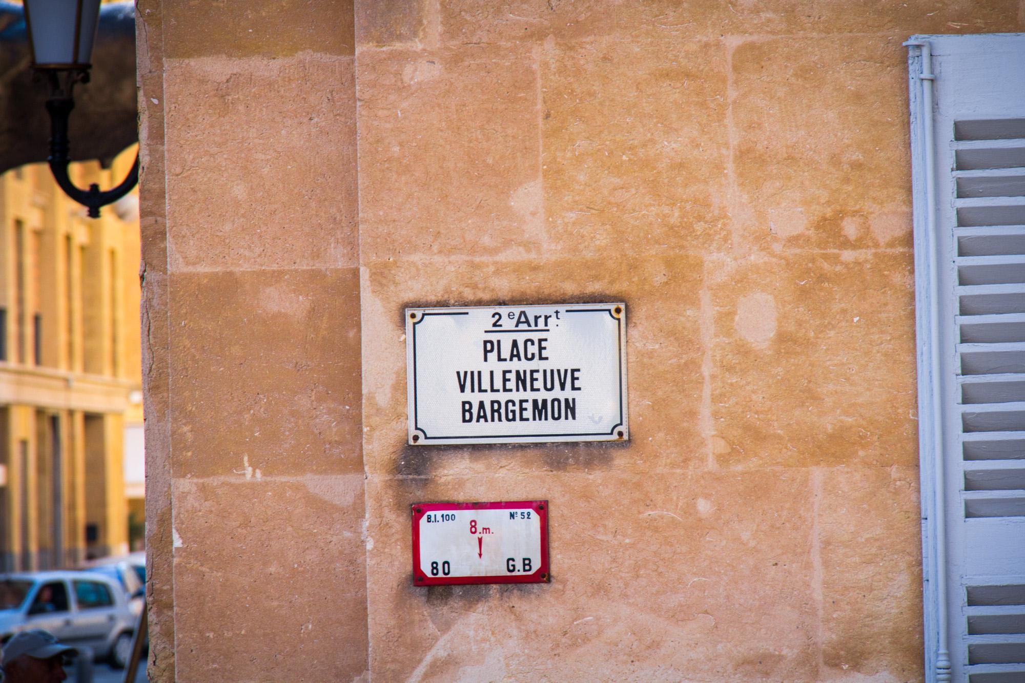 Place Villeneuve-Bargemon