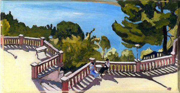 Terrasse à l'Estaque - Albert Marquet - 1916