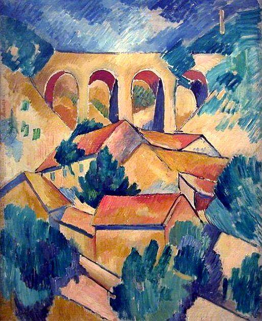 Viaduc à l'Estaque - Georges Braque - 1908