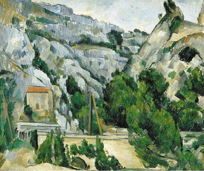 Viaduc à l'Estaque - Paul Cézanne - 1882