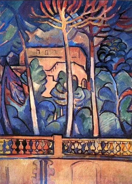 Vue depuis l'hôtel Mistral - Georges Braques - 1907