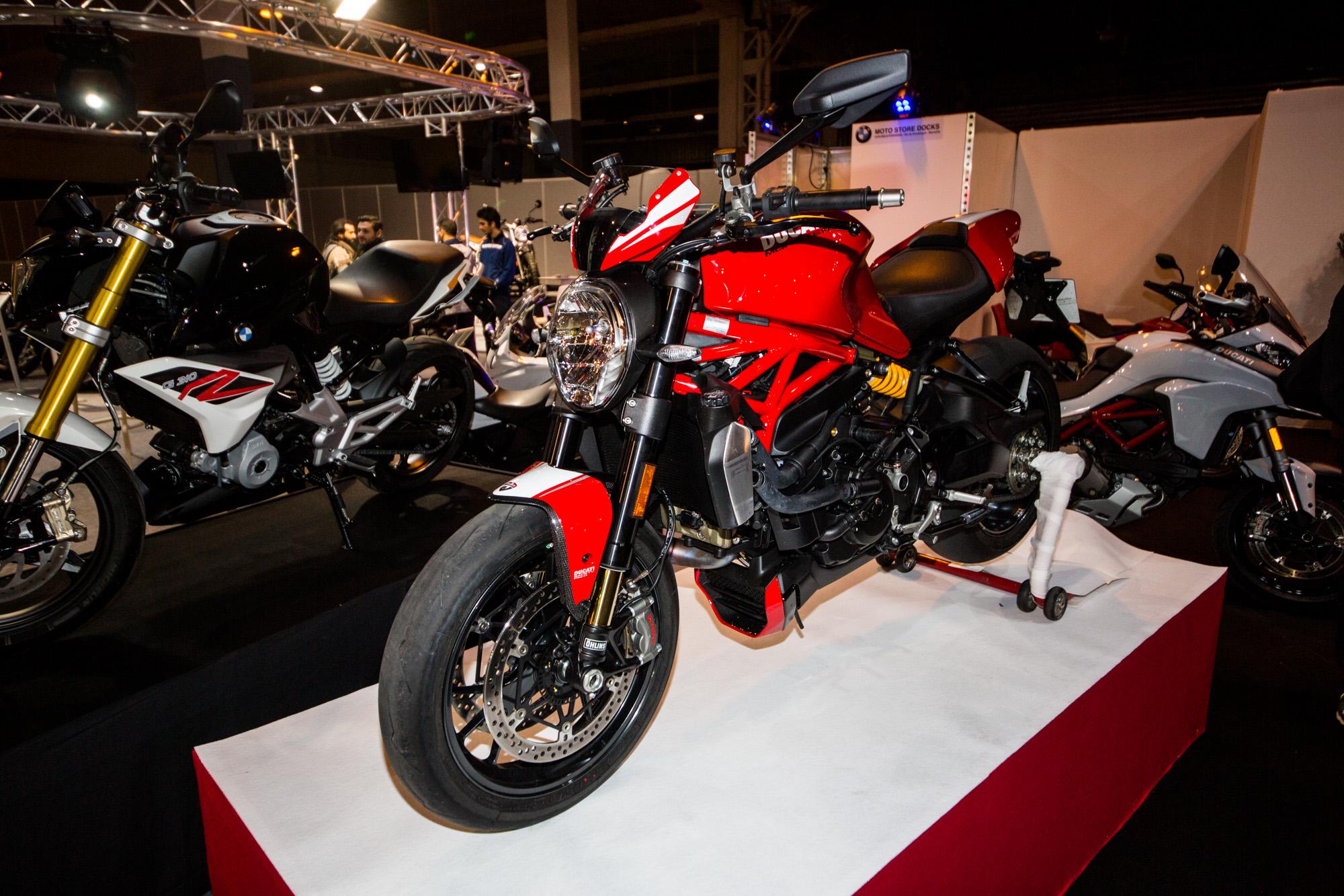 Salon de la moto du scooter et du quad 2016 la chronique for Salon de la moto 2016