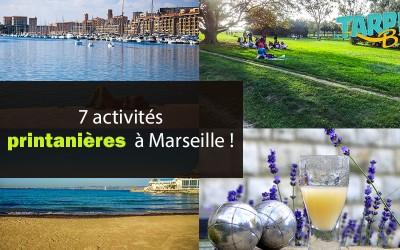 7 activités printanières à Marseille