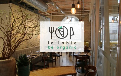 « La table » Be Organic : 100% bio, bon, local et saisonnier