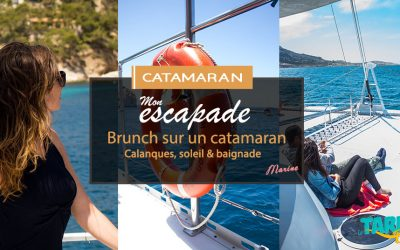 [Escapade catamaran ] Brunch, calanques, soleil & baignade