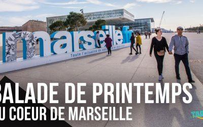 Balade de printemps au cœur des quartiers de Marseille