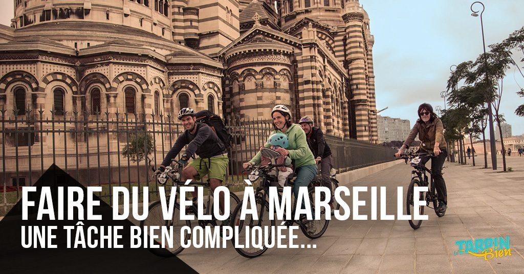 Faire du vélo à Marseille, une tâche bien compliquée !