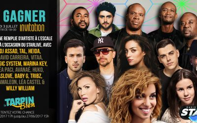 Gagnez vos invitations pour le Star live !