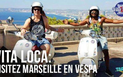 Vita Loca : visitez Marseille en Vespa !