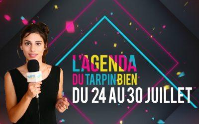 L'agenda du Tarpin Bien, du 24 au 30 juillet à l'Encre Noire / Chez Rita