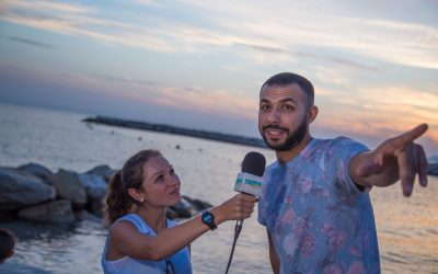 Interviews au mama beach comedy