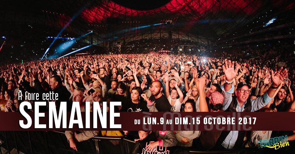 Cette semaine à Marseille (Du 9 au 15 octobre)
