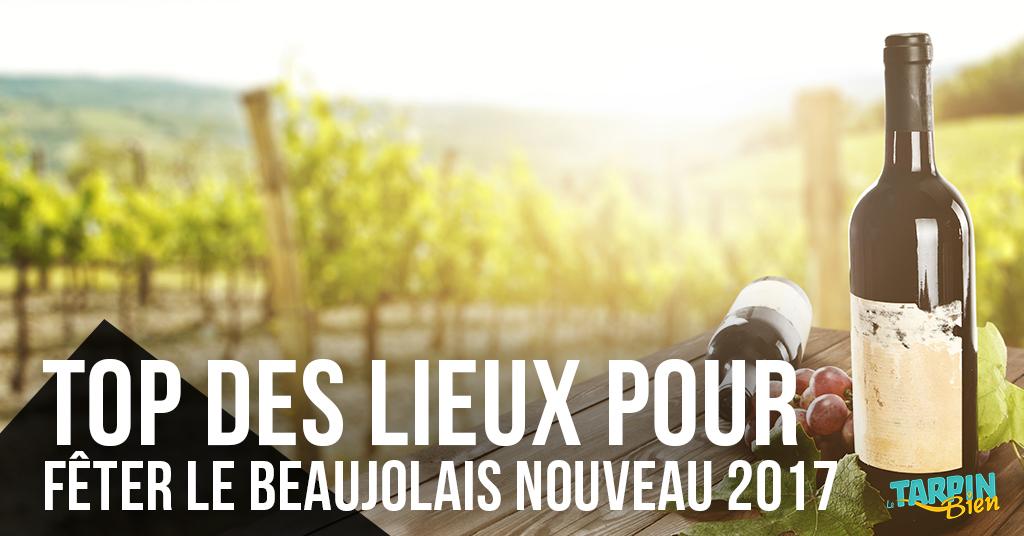 Top des lieux marseillais pour fêter le Beaujolais Nouveau !