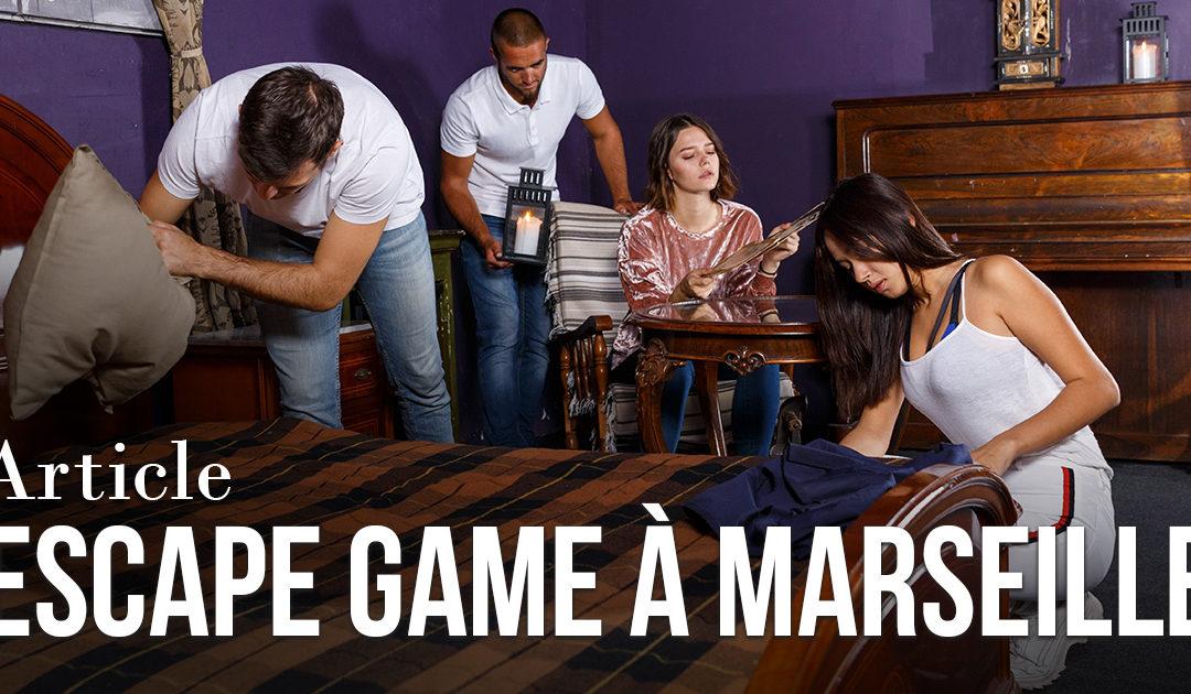 Escape Game à Marseille & alentours