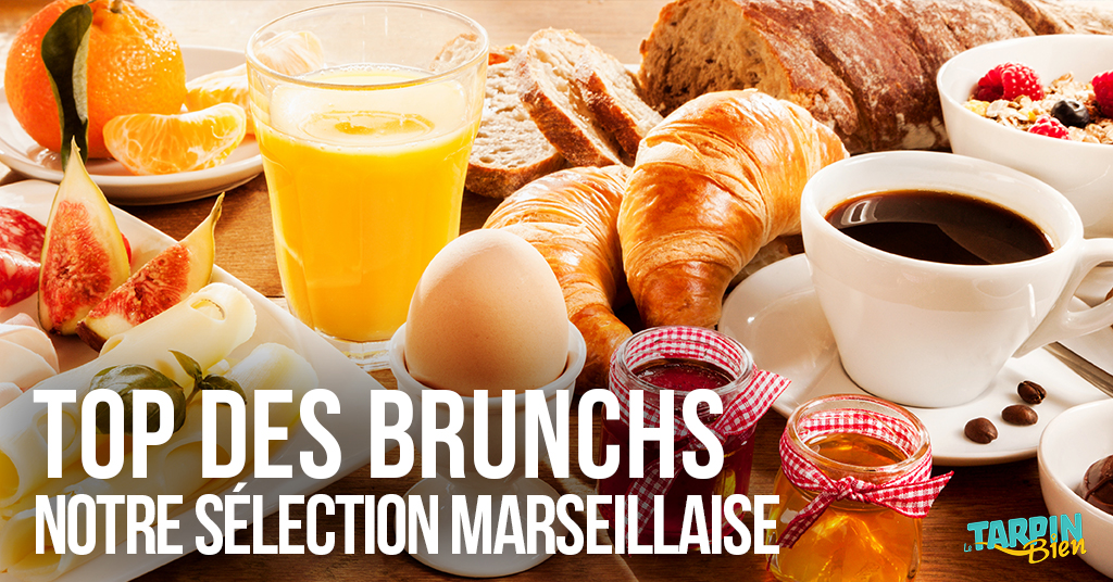 Top des brunchs à Marseille !