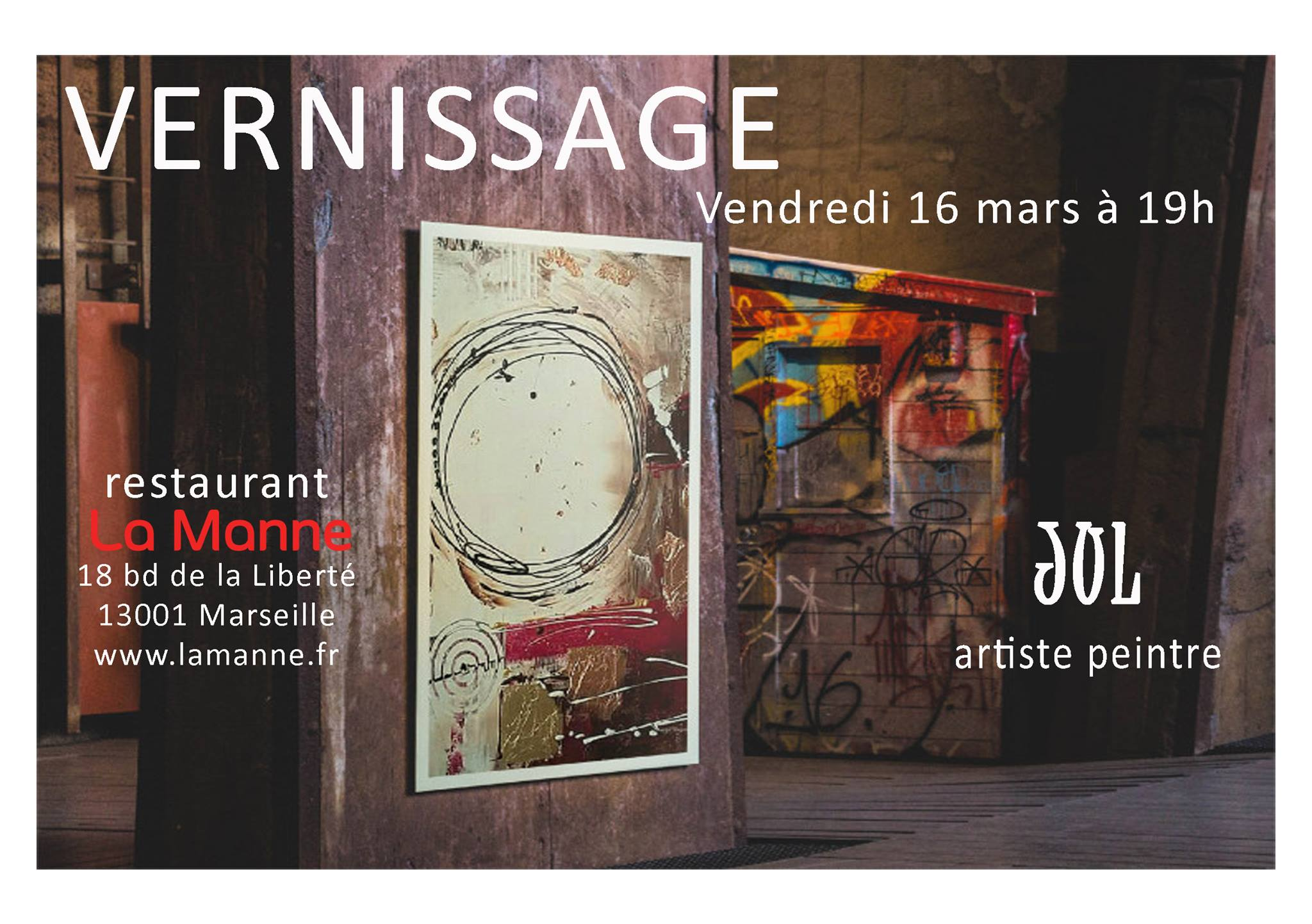 vernissage jul artiste peintre | tarpin bien