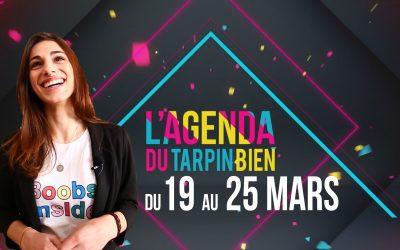 L'agenda du 19 au 25 mars aux Toqués du Bocal !