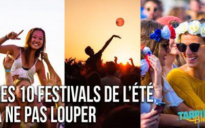 les 10 festivals de l'été à ne pas louper