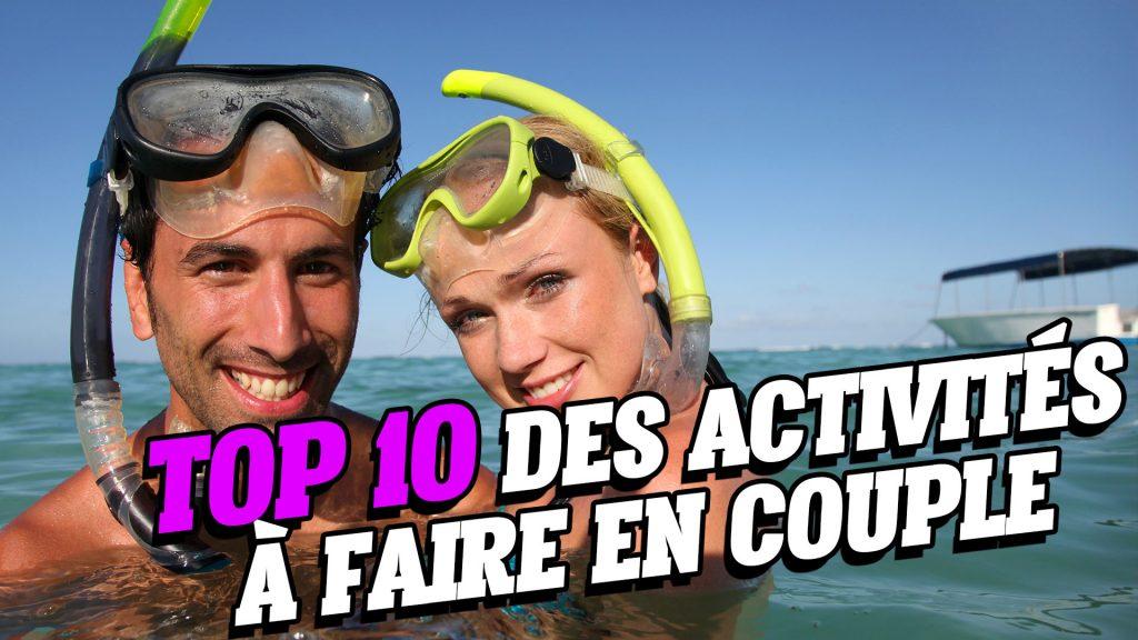 Top 10 des activités à faire en couple