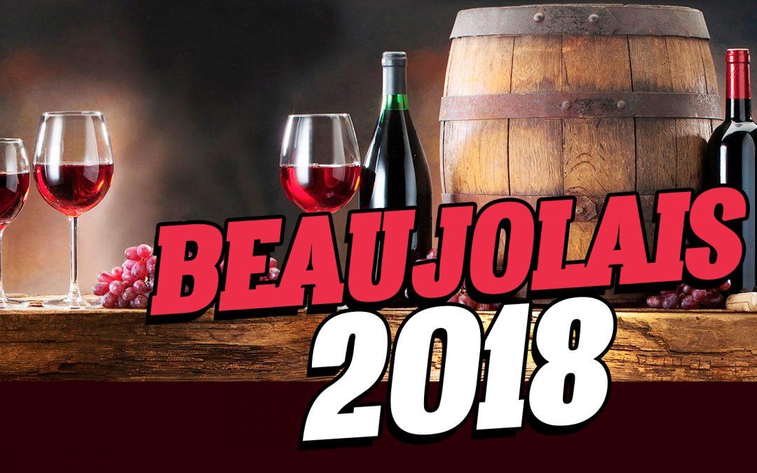 Le beaujolais nouveau 2018 à Marseille
