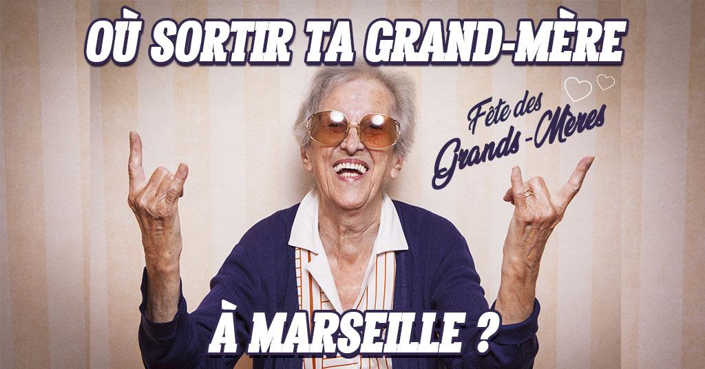 Fête des grands-mères 2019 à Marseille