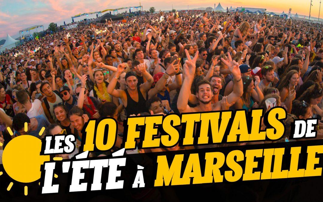 Les 10 festivals de l'été à ne pas louper à Marseille