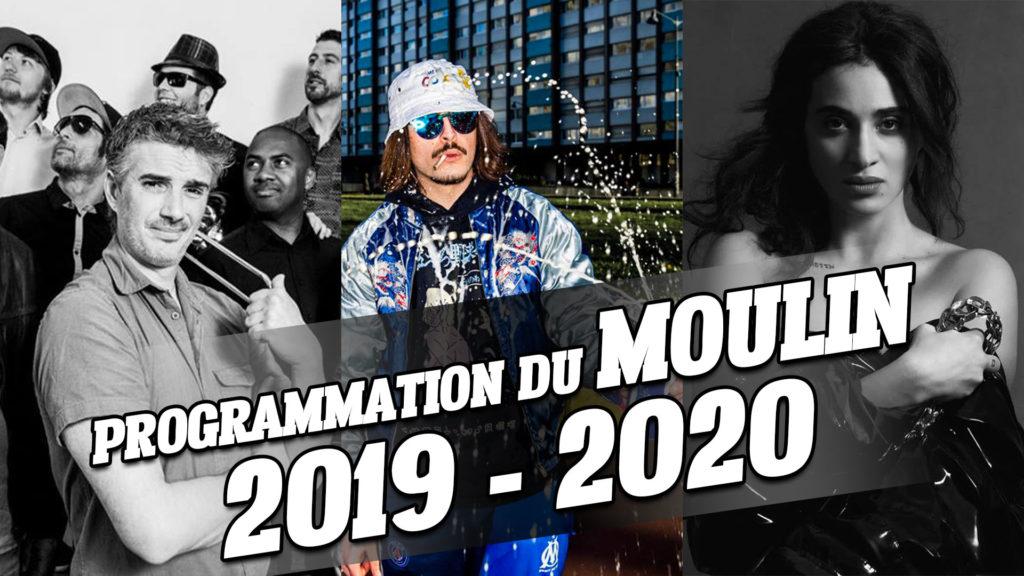 Programmation du Moulin 2019 – 2020