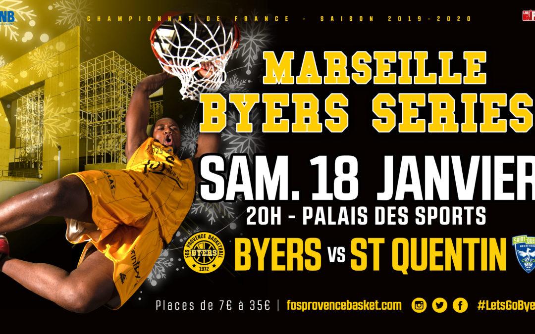 les Byers de Fos au Palais des Sports de Marseille !