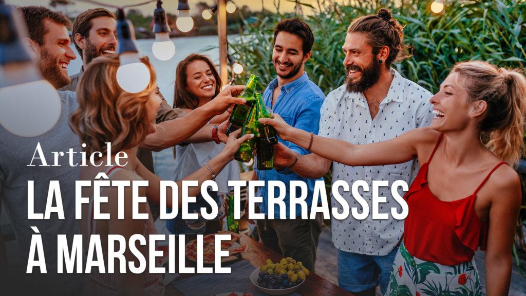 La fête des terrasses à Marseille