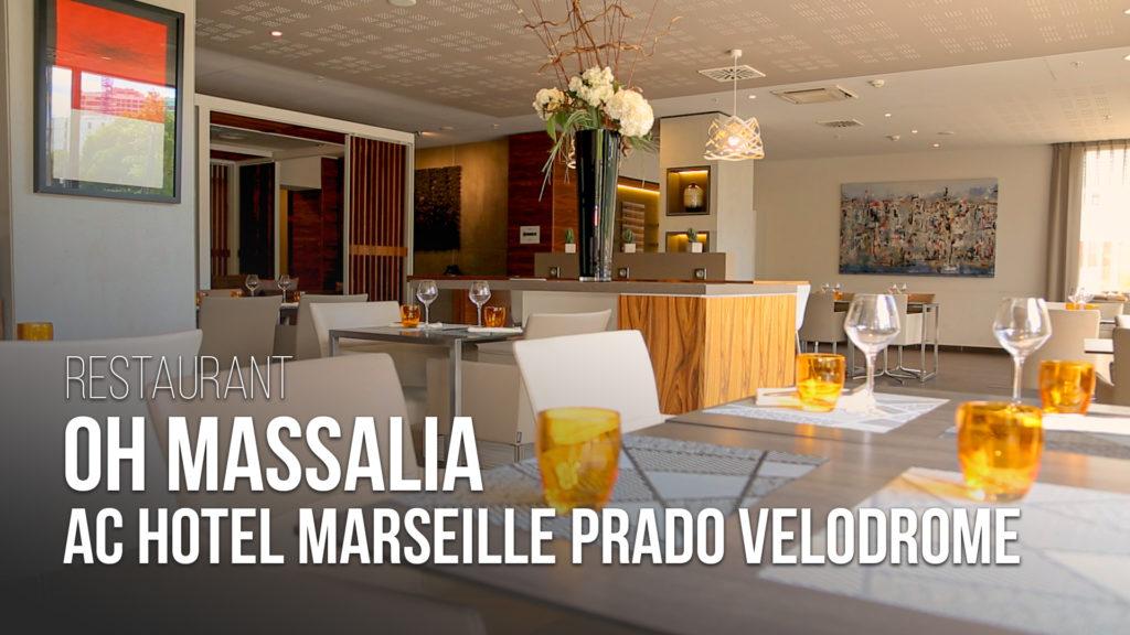 Restaurant : Oh Massalia à L'AC Hotel Marseille Prado Velodrome