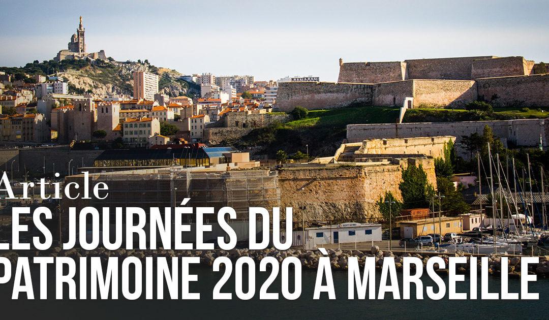 Journée du Patrimoine 2020 à Marseille – ANNULÉ