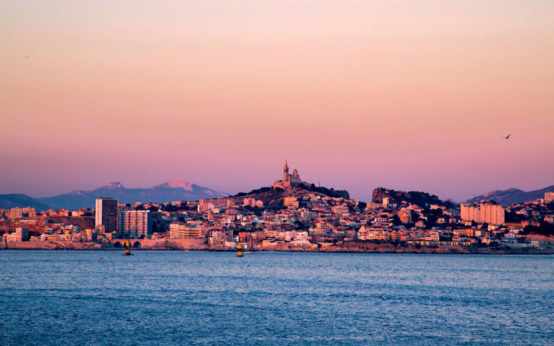 Marseille à travers 10 couchers de soleil