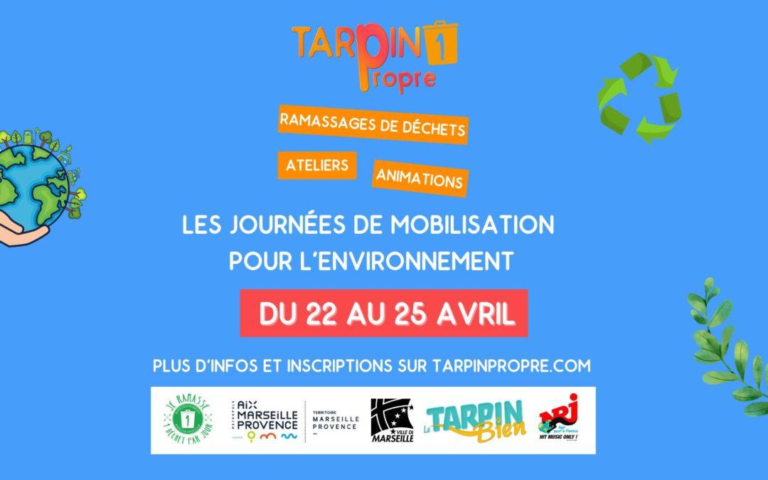 Rendez-vous du 15 au 19 mai pour le Tarpin Propre !