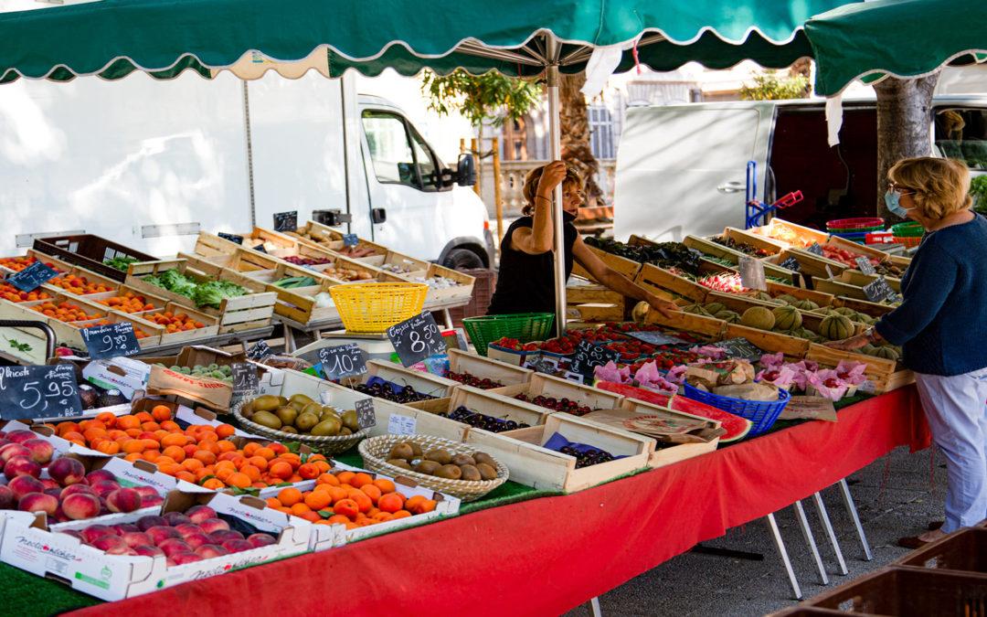 Les marchés Marseillais