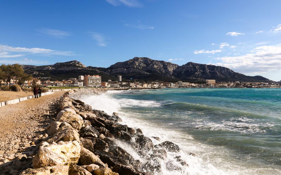 Ta balade du week-end : des plages du Prado à la Madrague de Montredon !