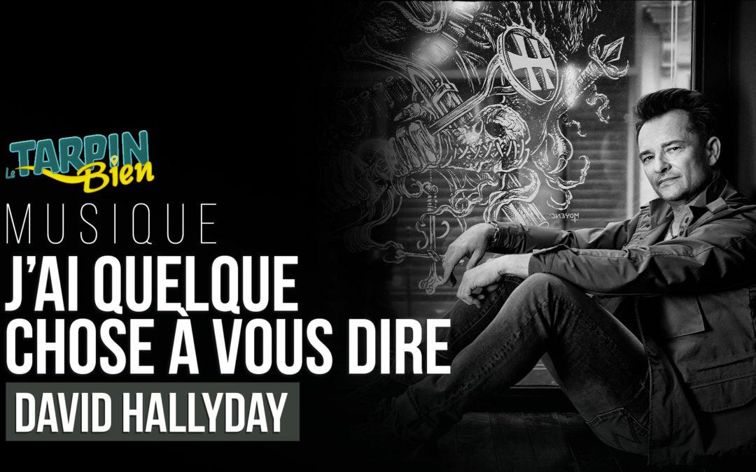 David Hallyday : la collab avec son père, son passage dans Hunger Games et son concert à Marseille